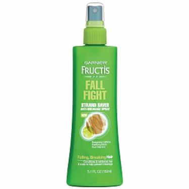 Garnier Fructis Haircare Fall Fight Strand Saver Anti-Breakage Spray for Falling, Breaking Hair