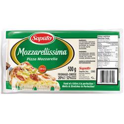 Saputo Mozzarellissima Cheese