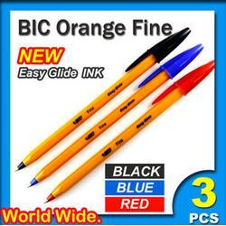BIC Orange Fine Pens