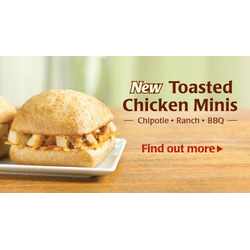 Tim Hortons Toasted Chicken Minis
