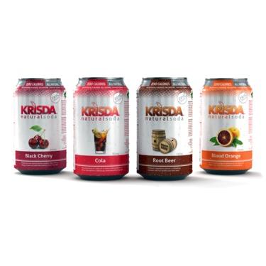 Krisda All Natural Soda
