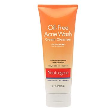Neutrogena Oil Free Cream Cleanser