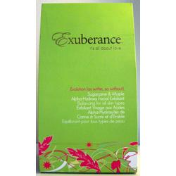 Exuberance Evolution Sugarcane & Maple Alpha-Hydroxy Facial Exfoliant