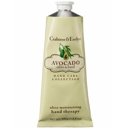 Crabtree & Evelyn Avocado, Olive and Basil Ultra-Moisturising Hand Therapy