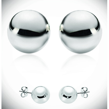 Tiffany Classic Sterling Silver Studs - 12$