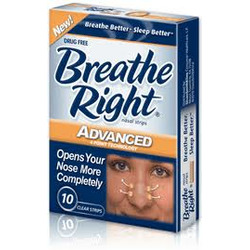 Breathe Right Advanced Nasal Strips