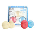 eos Organic Smooth Spheres Lip Balm Alice in Wonderland Trio