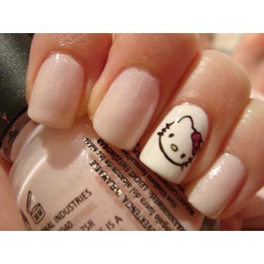 Hello Kitty Nail Art Plates