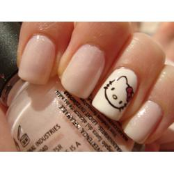 Hello Kitty Nail Art Plates