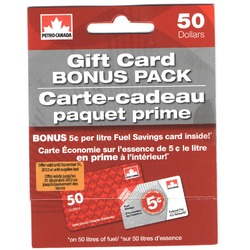 Petro Canada Gift Card Bonus Pack