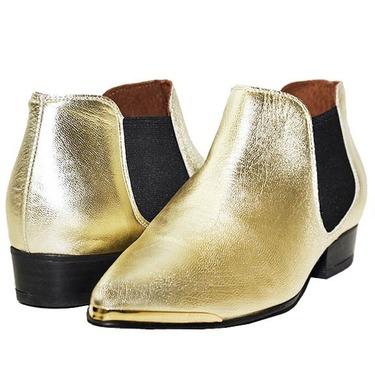 Sixtyseven Enrica Boreal Golden Shoes