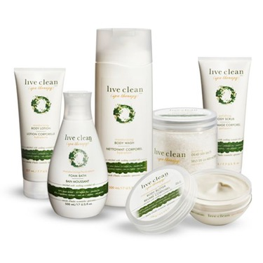 Live Clean Spa Therapy Polishing Body Scrub