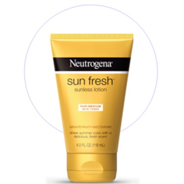 Neutrogena Sun Fresh Sunless Lotion