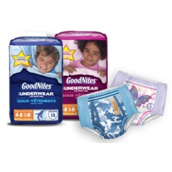 GoodNites Disposable Underwear for Boys & Girls
