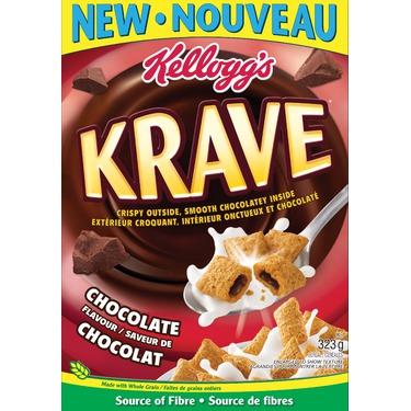 Kellogg's Krave Cereal