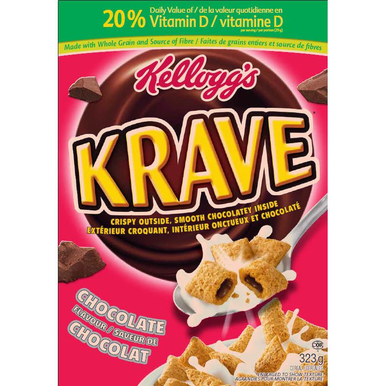 Kellogg's Krave Cereal Reviews In Cereal