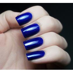 Pomegranate Nail Lacquer - Blue Screen of Death