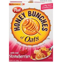 Post Honey bunches of Oats Strawberry