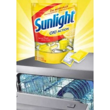 Sunlight® OxiAction Power Pacs Lemon Fresh