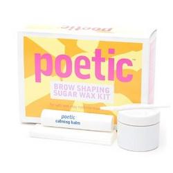 Bliss Poetic Brow Shaping Sugar Wax Kit