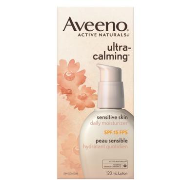 Aveeno Ultra-Calming Daily Moisturizer SPF 15