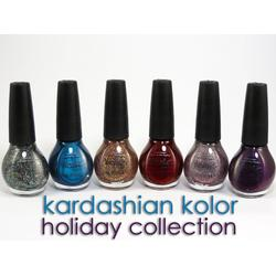 Nicole by OPI Kardashian Collection Holiday Kolors
