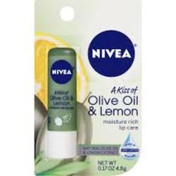 Nivea A Kiss of Olive Oil & Lemon Moisture Rich Lip Care