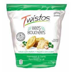 Twistos Parmesan & Garlic Baked Snack Bites
