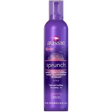 Aussie Sprunch Hair Mousse   Leave-in Conditioner