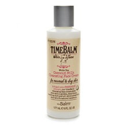 The Balm Time Balm White Tea Coconut Milk Cleansing Face Cream