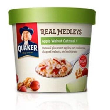 Quaker Real Medleys in Apple Walnut