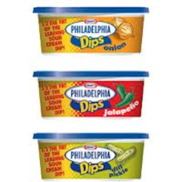 Philadelphia Sour Cream and Onion Dip