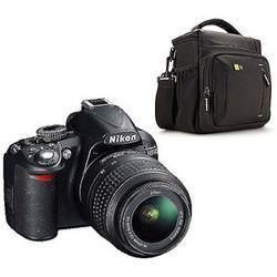 Nikon D3100 14.2MP DSLR Camera Value Bundle with DSLR Shoulder Bag