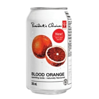 PC Blood Orange Sparkling Soda