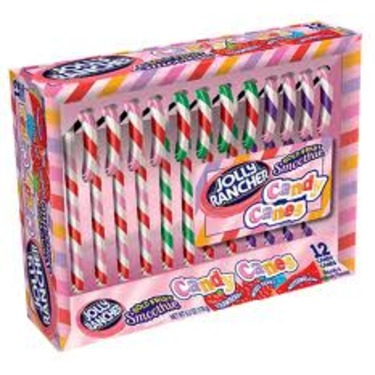 Jolly Rancher Candy Canes