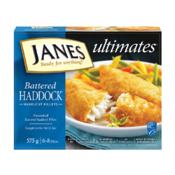 Jane's Premium Battered Haddock