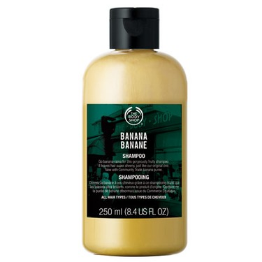 Body Shop Banana Shampoo and Conditioner