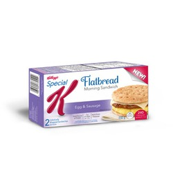 Kellogg's Special K Flatbread Morning Sandwich