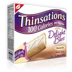 Thinsations Soft Baked Delight Cheesecake Bars