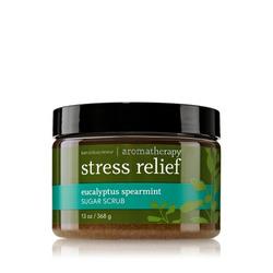 Stress Relief Sugar Scrub: Eucalyptus & Spearmint
