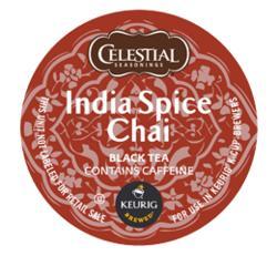 Celestial Seasonings India Spice Chai Tea K-Cup