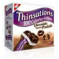 Thinsations Chocolaty Covered Pretzels