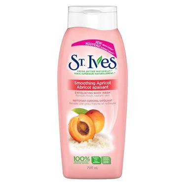 St. Ives Smoothing Apricot Exfoliating Body Wash