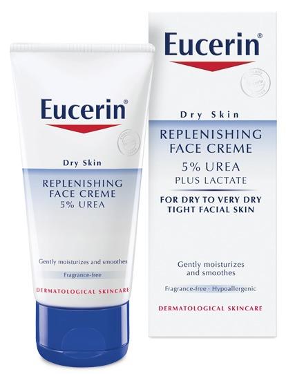 eucerin replenishing face cream 5 urea reviews in facial lotions creams chickadvisor. Black Bedroom Furniture Sets. Home Design Ideas
