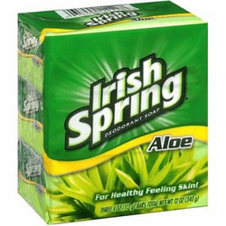 Irish Spring Aloe Soap Bar