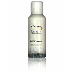 Olay Definity Penetrating Mousse Cleanser