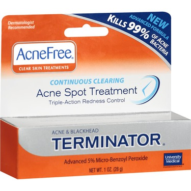 Acnefree Terminator Spot Acne Treatment Reviews In Blemish Acne