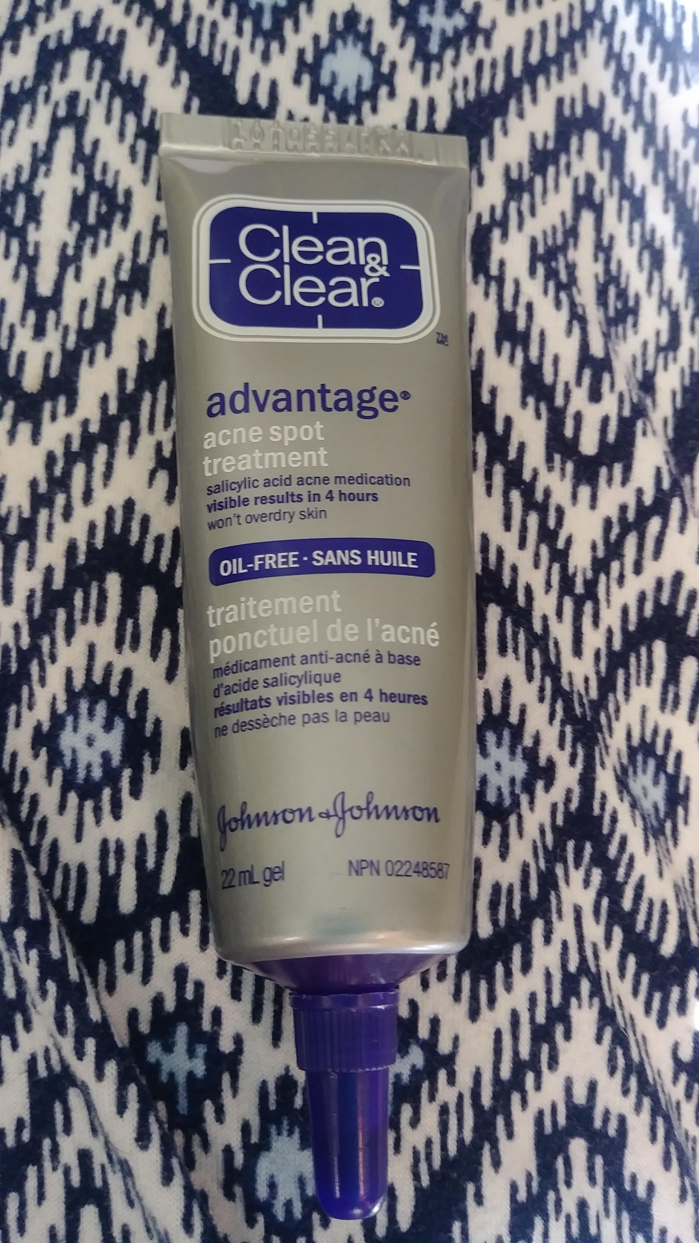 Clean Clear Advantage Acne Spot Treatment Reviews In Blemish Acne Treatments Chickadvisor