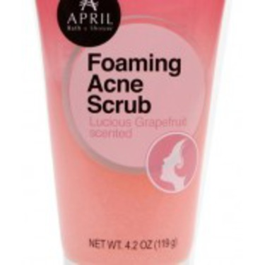 April Bath & Shower – Foaming Acne Scrub