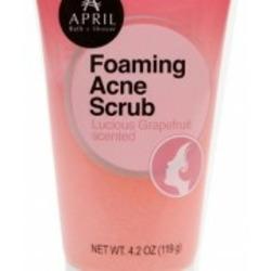 April Bath & Shower – Foaming Acne Scrub